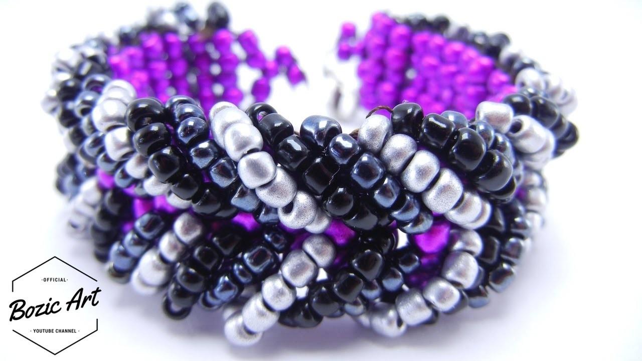 How to Make Chevron Bracelet | Beading Tutorial