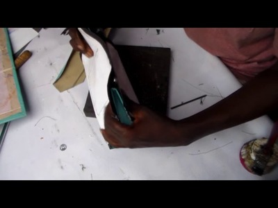 How to make leather purse