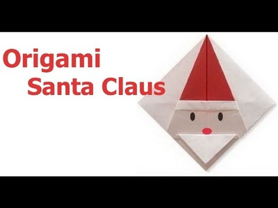 Origami how to make an origami star box paper diy for Make origami santa claus