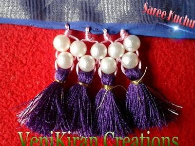 How to make Saree Kuchu.Tassels - Design 9
