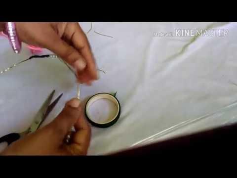 How to make tiara.head band.hair accessory