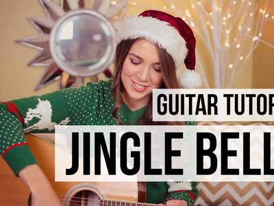 Jingle Bells. Guitar Tutorial.  How to Play