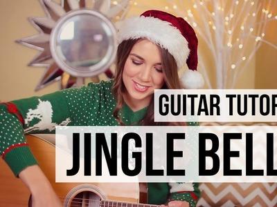 Jingle Bells. Guitar Tutorial.  How to Play