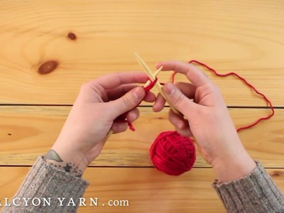 Knit stitch: how to knit the easy way!