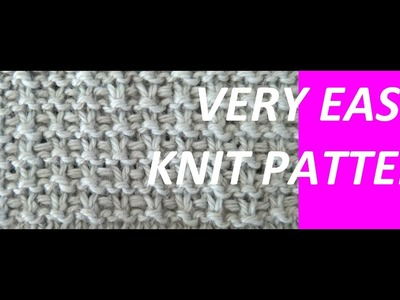 Knitting Pattern * VERY EASY KNITTING PATTERN *