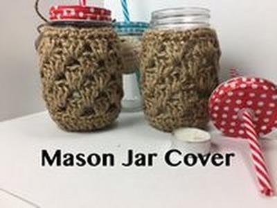 Ophelia Talks about Crochet Mason Jar Cover
