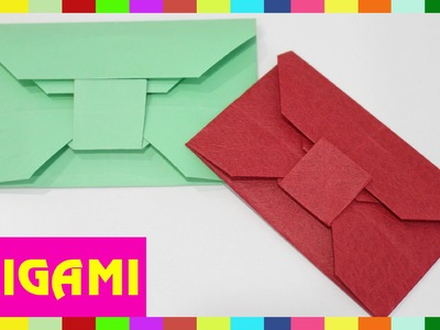 Origami Envelope - How To Fold Envelope ( Kasumi Paper )