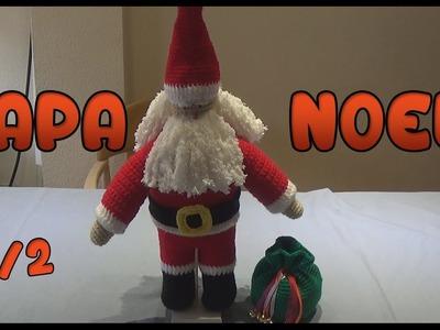 Papa Noel Amigurumi a crochet | Parte 2.2