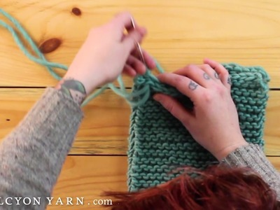 Sew seam for knitting - the quick and easy way!