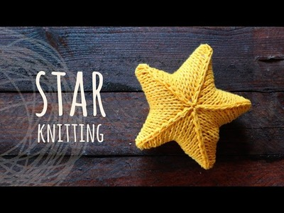Tutorial Knitting 3D Star