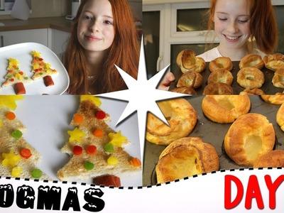 Vlogmas Day 11 2016, How To Make Massive Yorkshire Puddings, Christmas Tree Toast, Vlogmas | NiliPOD