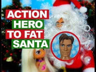 Action Hero to Fat Santa DIY Santa Claus Doll Crafts