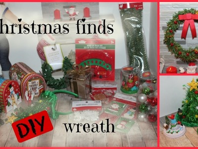 American Girl Christmas doll size finds and making a DIY wreath