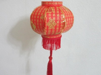 CNY TUTORIAL NO. 46 - Traditional Round Paper Lantern