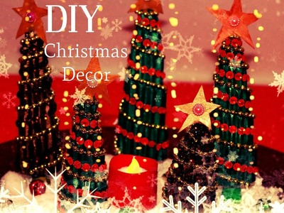 DIY Christmas Recycled Decorations - Super Cool & Very Easy