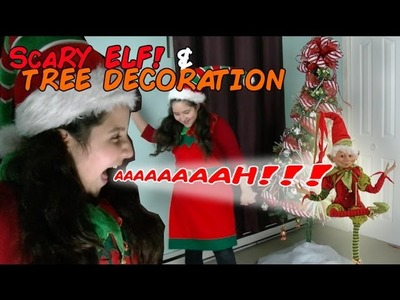 DIY Christmas Tree decoration for kids with scary Elf  home made