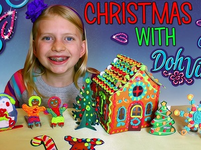 DIY Doh Vinci Play-Doh Gingerbread House