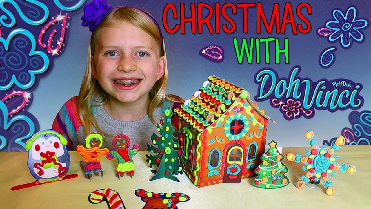 DIY Doh Vinci Play-Doh Gingerbread House