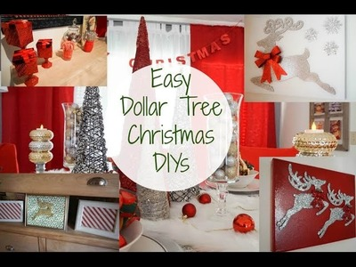 DIY Dollar Tree Decorations| Christmas Decor DIY| Megan Navarro