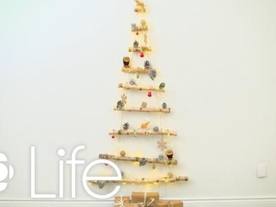 DIY: Holiday Hanging Wall Tree | CBC Life