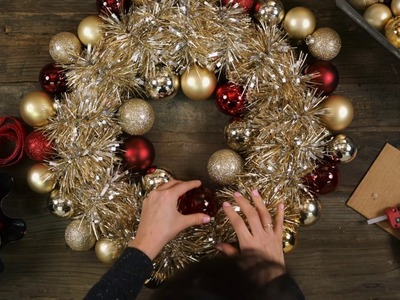 DIY Holiday Ornament Wreath | Ambit Energy