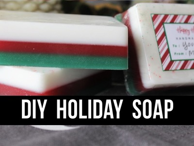 DIY Holiday Soap (Super Easy + Packaging Ideas!)   Royalty Soaps