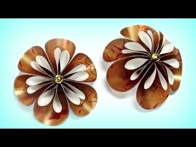 DIY Paper flowers & ball flowers. Flores de papel y bola de flores