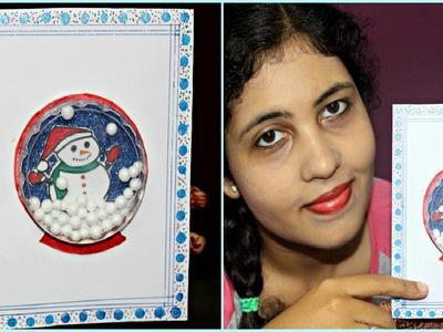 DIY Snow Globe Shaker Christmas Card   Craftosphere Ep. 10