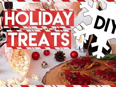 Healthy Holiday Treats DIY