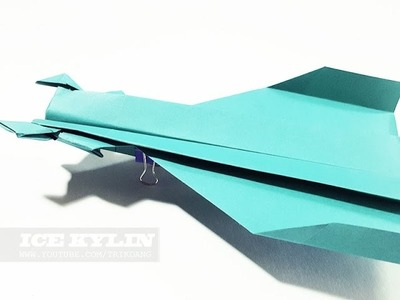 How to make a Paper Airplane that Flies - Ice Kilyn (Tri Dang)