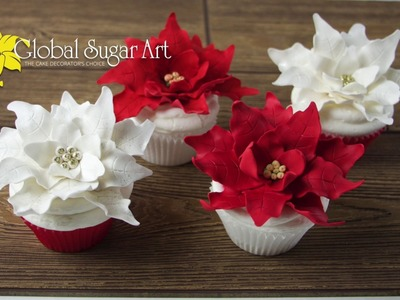 How To Make Gumpaste Poinsettias – Best Poinsettia Tutorial From The Cake Decorator's Choice