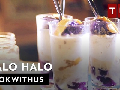 How to Make Halo Halo (Shaved Ice Dessert) | #WokWithUs S1E11