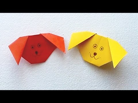 How to Make Paper Dog | Teach Simple Paper Crafts to your Kids