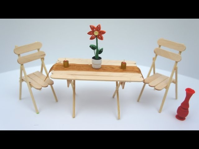 Miniature Table and Chair DIY Project   TCraft