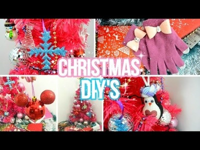 14 EASY DIY Christmas gifts & decorations