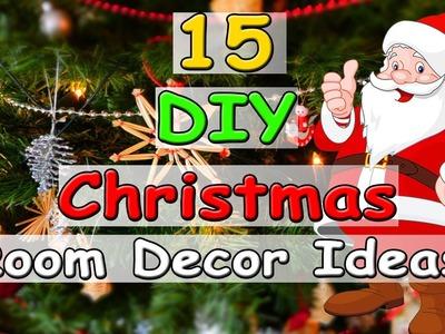 15 DIY Christmas Room Decor Ideas