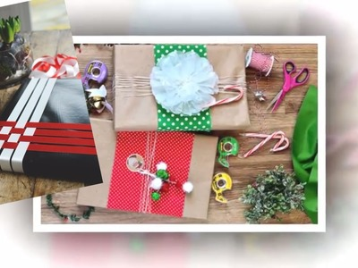 25 DIY happy Christmas wrapping ideas HOW TO!