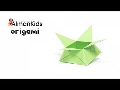 AlmanKids Origami | Scatolina di Carta | Cajita de Papel | Paper Box