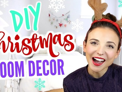 Christmas Room Decorations + DIY Room Decor for 2016!