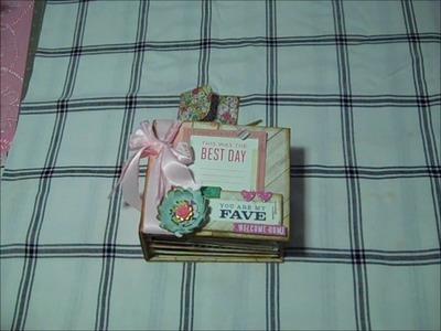Cute little Mini album - The Paper Dream template by Jenofeve!