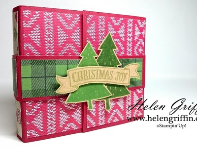 Decorating The Christmas Paper Bag Mini Album Tutorial