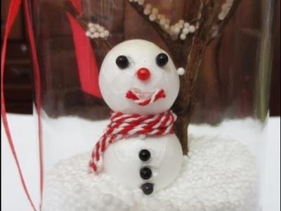 DIY : #159 Snowman in a JAR - Christmas Gift ♥