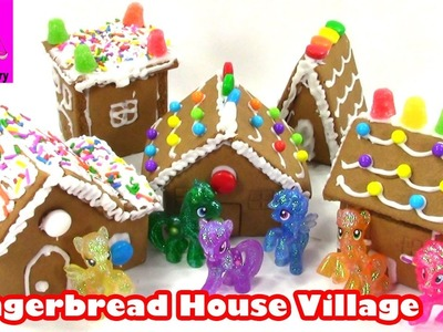 DIY Christmas Gingerbread House with My Little Pony