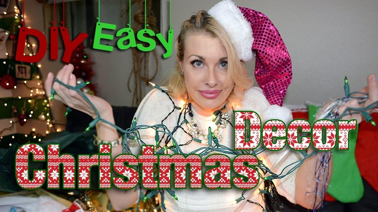 DIY Christmas Holiday Decor Ideas