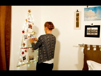DIY Christmas Tree Alternative for Small Spaces by Sweet Inn