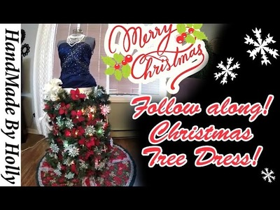 DIY ChristmasTree Dress 2016
