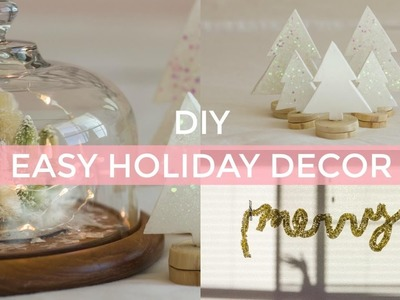 DIY EASY CHRISTMAS DECOR | pacifically