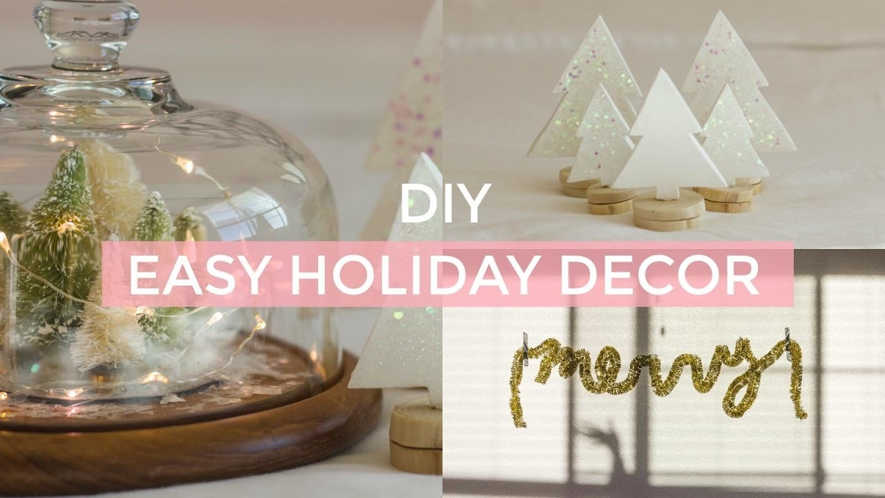 DIY EASY CHRISTMAS DECOR | pacifically
