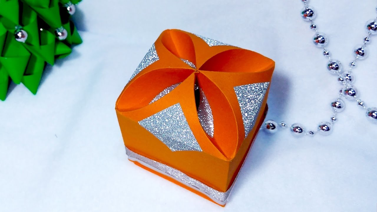 Diy gift box no templates any size easy and rich