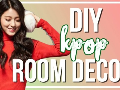 DIY K-Pop Holiday Room Decor + Gifts Ideas | BTS, VIXX, & More!